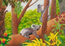 living with Koalas artist _ Elle Fikke