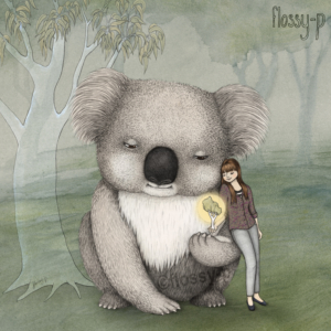 living with koalas - Flossy-p