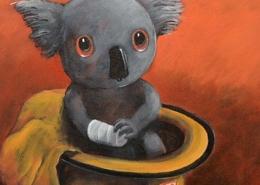 Living with Koalas artist Max Horst