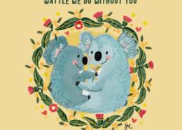 Living with Koalas artist Justine MORRISON