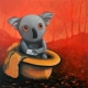 Living with Koalas artist max Horst