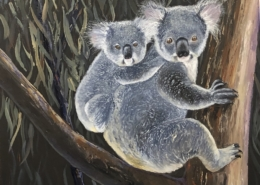 Living with Koalas -participating artist Andrew SMITH