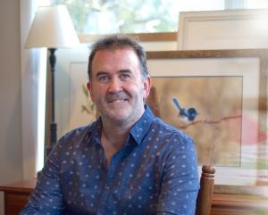 Living with Koalas artist David Reynolds