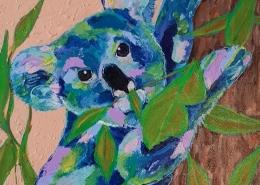 Living with Koalas artist - Donna Cozens