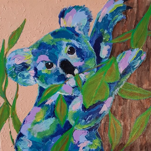Living with Koalas artist - Donna Cozens