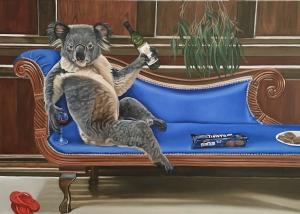 living with koalas artist Margaret Ingles