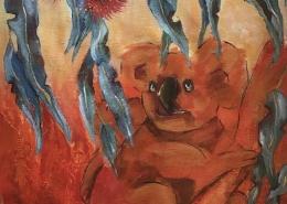 living with koalas artist - Annakie Jordaan