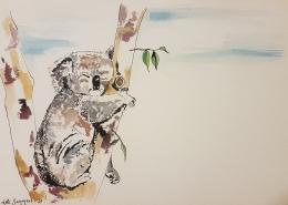 Living with Koalas artist Kate Summers