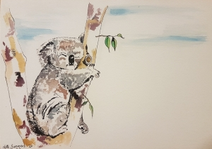 Living with Koalas artist Kate Summers