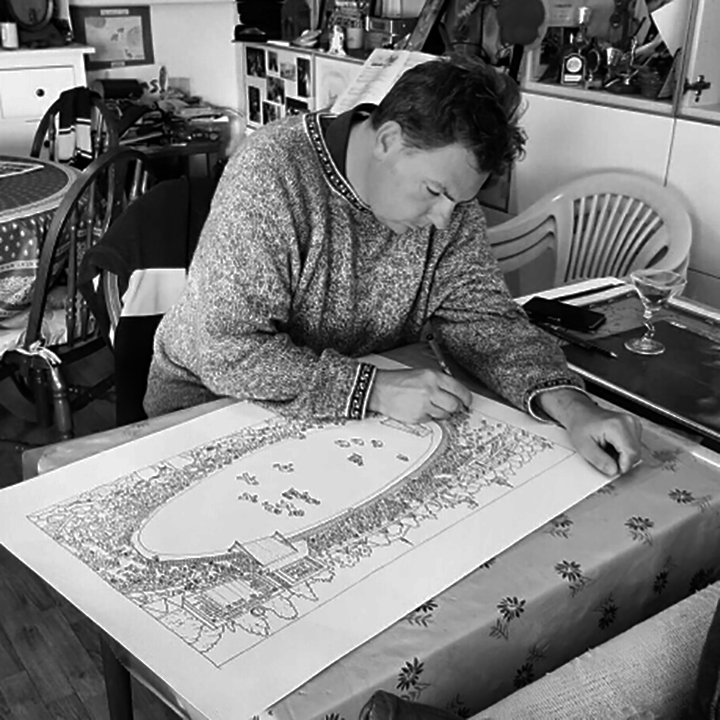 Living with Koalas artist - Mick Ashley