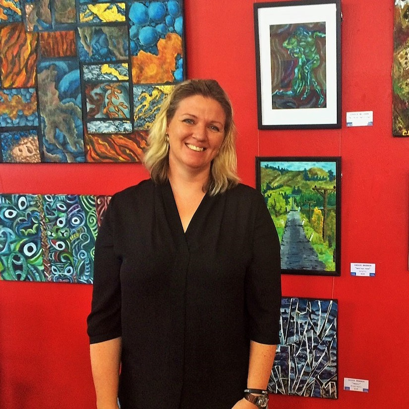 Living with Koalas artist - Cassandra BROOKER