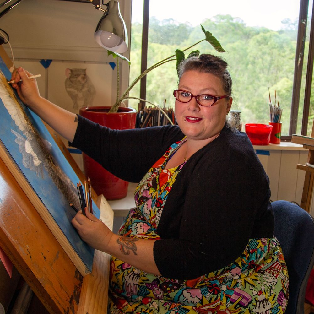 Living with Koalas artist - Ronelle Reid
