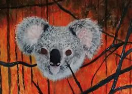 Living with Koalas artist - Lorraine Syratt (Delyse)