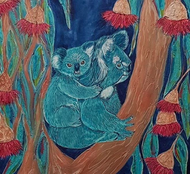Living with Koalas artist Donna Cozens