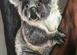 Living with Koalas artist Hilary Macorison