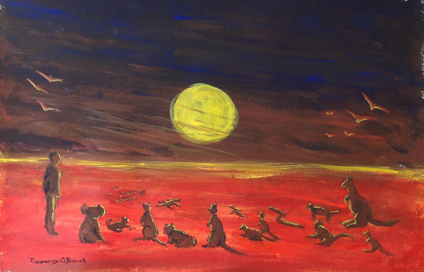 Living with Koalas artist - Rosemary Anne Berrell