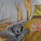 Living with Koalas artists Christelle GREY