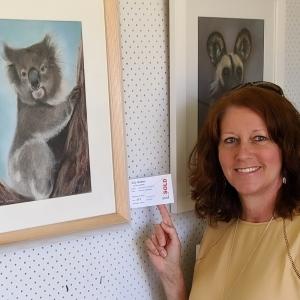 Living with Koalas artist - Deb Farrimond