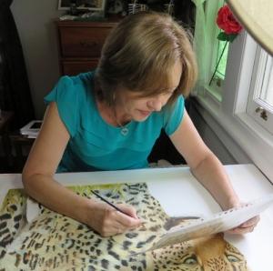 Living with Koalas artist Christelle GREY