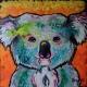 Livingwith Koalas artist Sarah Rowan