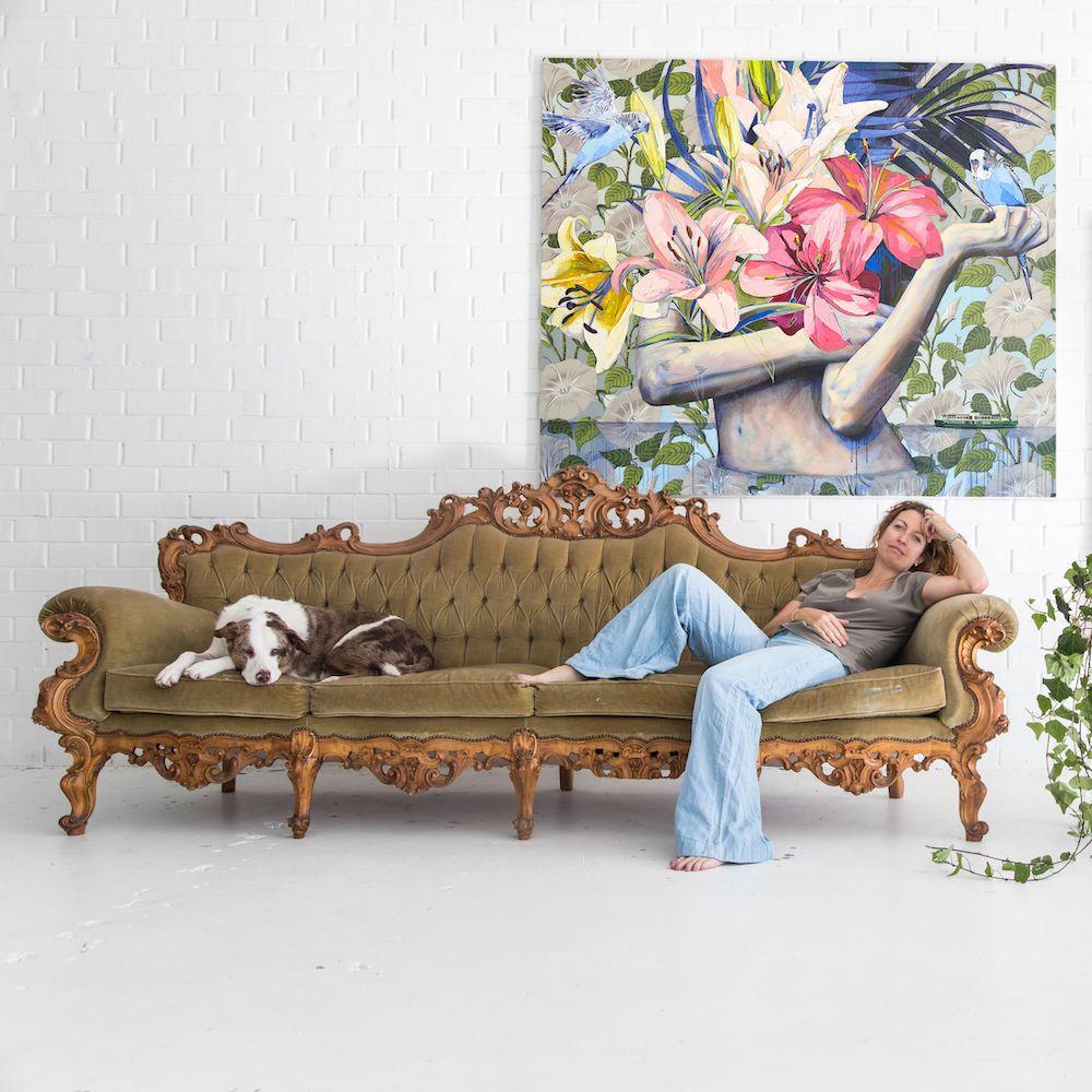 Living with Koalas artist Jessica Watts