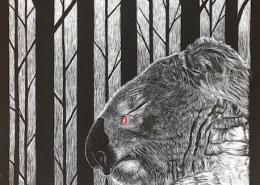 Living with Koalas artist - Sam Pennisi