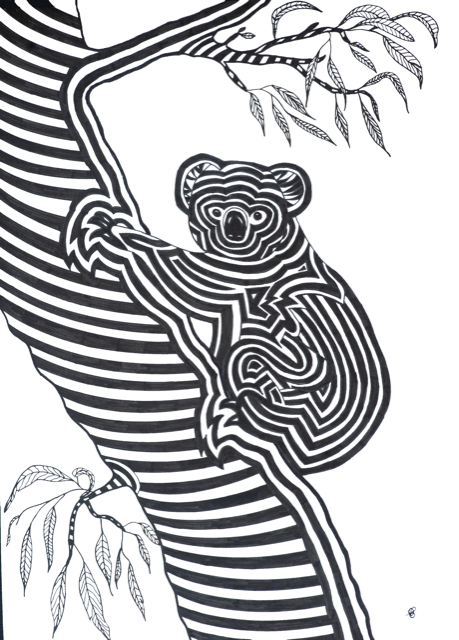 Living with Koalas artist