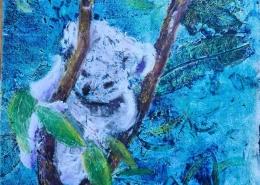 Living with Koalas artist Lesley Kane
