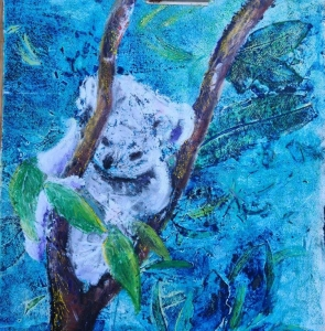 Living with Koalas artist Lesley Kane
