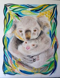 Living with Koalas artist Vynka (Winka von Fahland)
