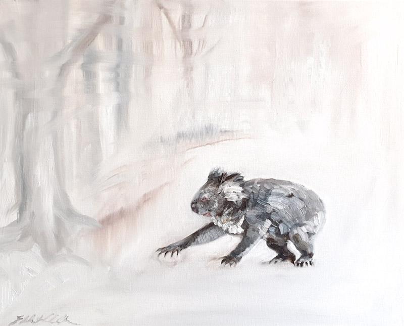 Living wit Koalas artists Liz H Lovell