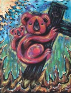 Living with Koala artist Goya Torres