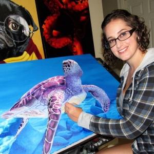 50 USA artist from MISSISSIPPI - Melissa HEDGE