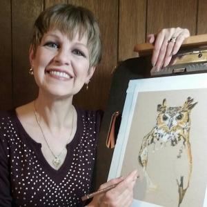 50 USA artist from Nebraska - Cathleen LENGYEL