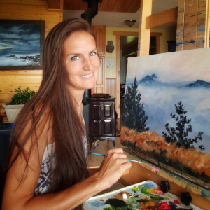 USA 50 artist from North Dakota - Katrina CASE