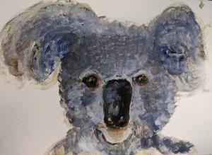 living with Koalas artist Rachel CARROLL